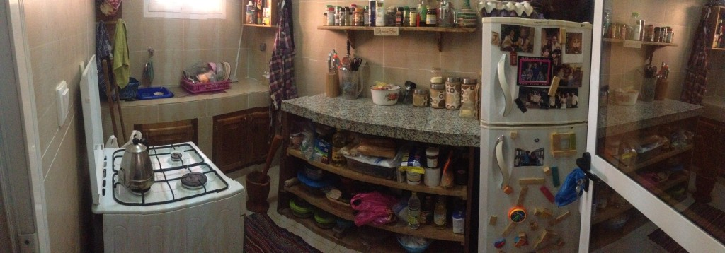 Kitchen... We put in all the  cupboards and appliances