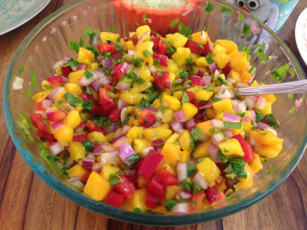 Mango Season = amazing mango salsa
